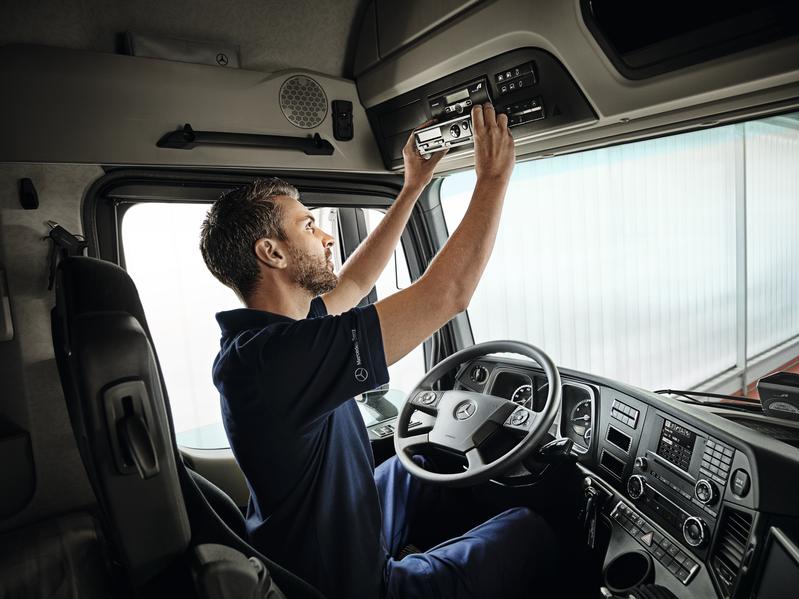 Mercedes Benz Truck/LKW Anlage