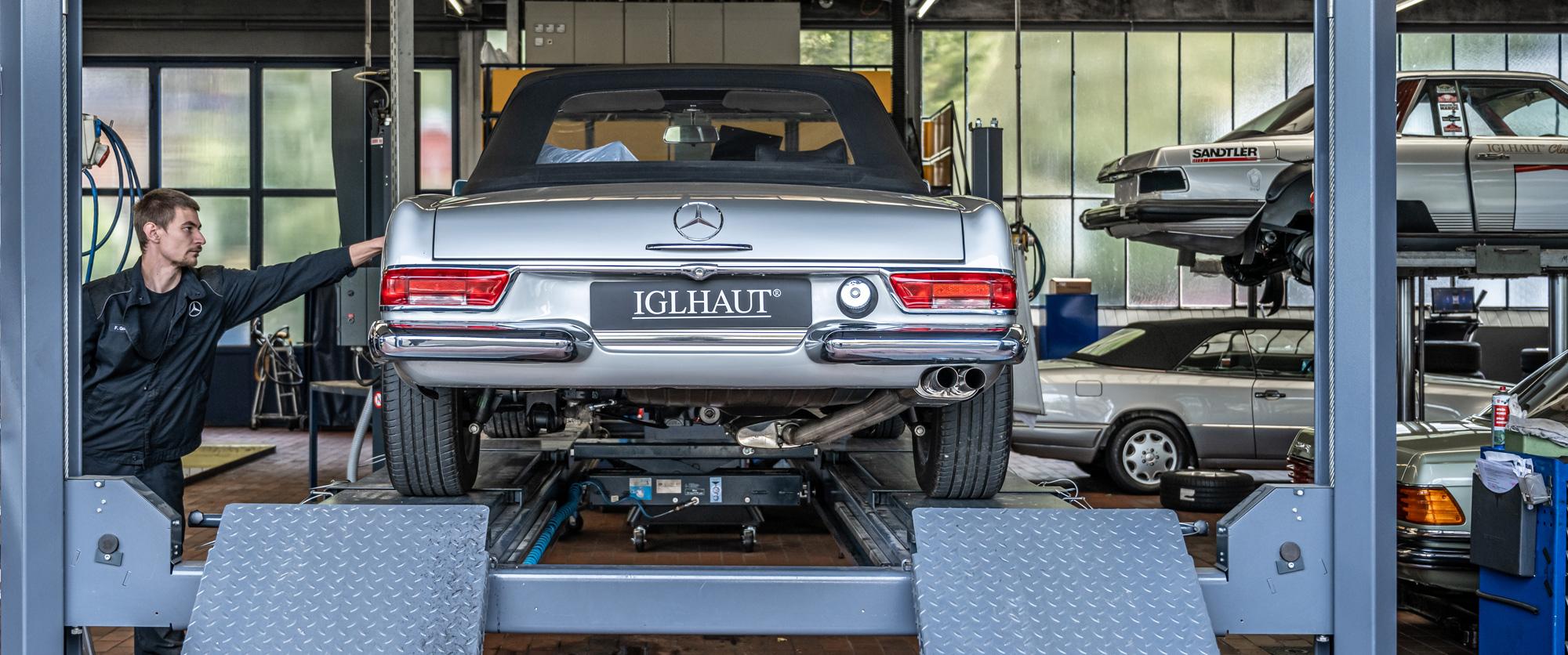 Iglhaut Historie Mercedes Benz